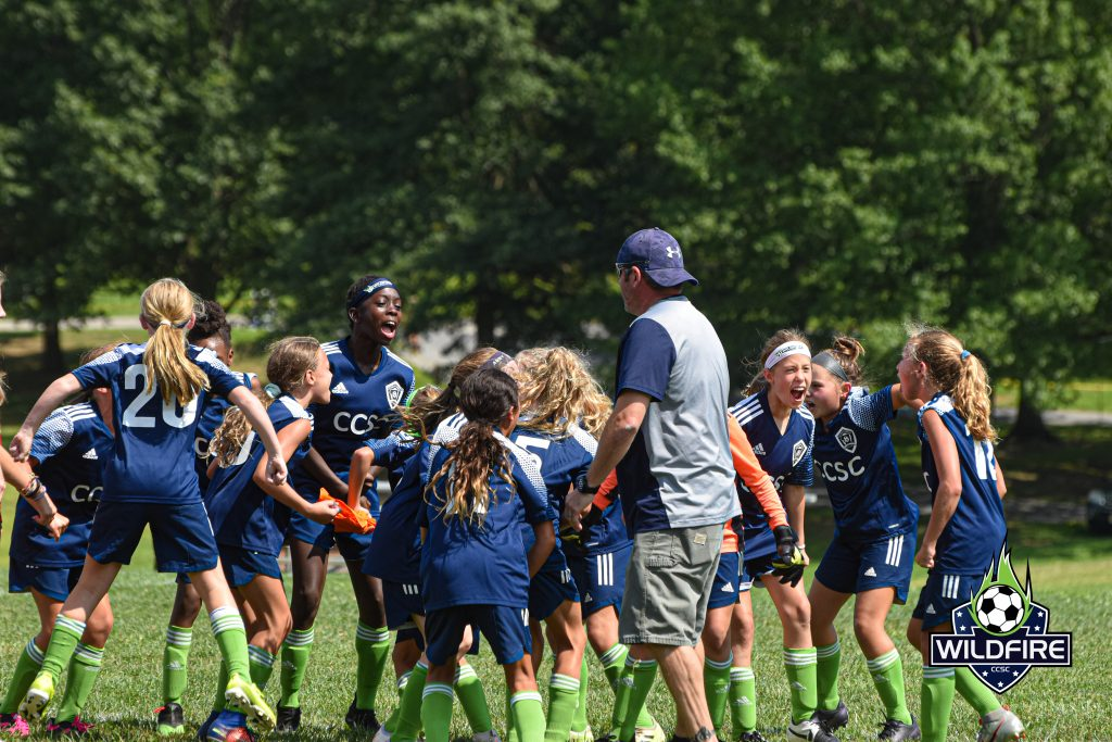 The Wildfire celebrate after their beating the Ukrainian Nationals 3-1 to win the 2021 Hershey Cup.